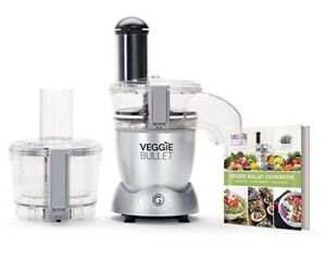 Veggie Bullet Electric Spiralizer And Food Processor Silver