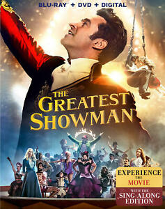 The Greatest Showman Blu ray DVD Digital 2018 NEW $11.93