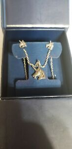 Jewelry Television Unicorn Necklace And Stud Earrings Set NEW