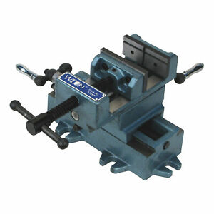 Wilton Cross Slide Drill Press Vise- 8in Jaw Length Model# CS8