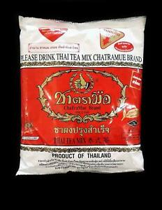 The Original Thai Iced Tea Mix Number One Brand 'Cha Tra Mue' 400 G.