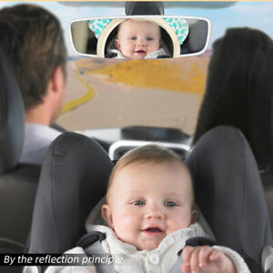 US New Baby Kids Mirror Back Car Seat Cover for Child Rear Ward Safety View ILJ