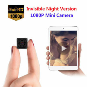 Mini Hidden Spy Camera Wireless HD 1080P Digital Video Motion Activated Cam