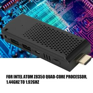 Mini PC For Intel Z8350 4-Core 4K DDR3 4GB+64GB PC Computer 2.4+5G WIFI TV Stick