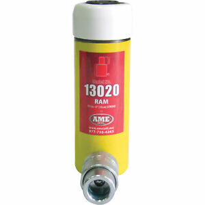 Ame International Hydraulic Cylinder- 10-Ton Cap Single-Acting 4in Stroke #13020