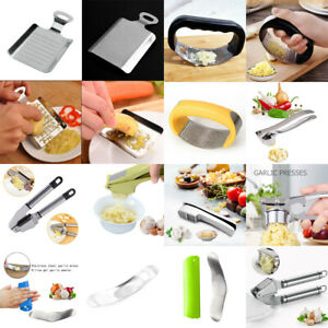 Garlic Press Chopper Slicer Hand Presser Grinder Crusher Home Kitchen Tools