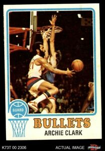 1973 Topps #15 Archie Clark Bullets (Wizards) EX/MT