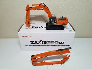 Hitachi Zaxis 350LC High Reach Demolition Excavator 1:50 Scale Diecast Model New