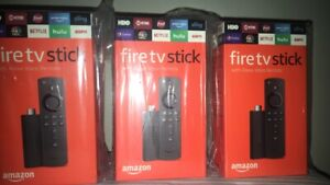 Amazon Fire TV Stick 2019 with All-New Alexa Voice Remote Streaming Device NEW