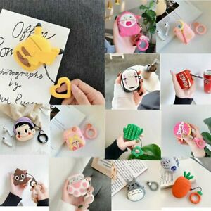 Cute Anime Character Silicone Airpods Case Cover for Apple Airpods Charging Box