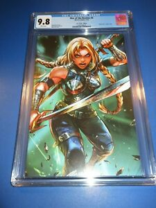 War of the Realms #4 Valkyrie Virgin Variant CGC 9.8 NMM Gorgeous Gem Wow