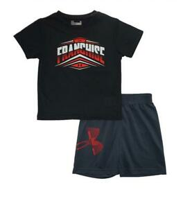 Under Armour Toddler Boys SS The Franchise Top 2pc Short Set Size 2T