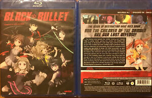 Black Bullet: Complete Collection (2-disc set blu ray)