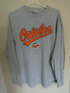 Vtg 2006 CSA Baltimore Orioles Pullover Long Sleeve Baseball Shirt Men XL $23.75