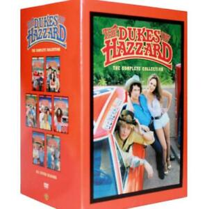 DUKES OF HAZZARD The Complete DVD Series Seasons 1-7 - Season 1 2 3 4 5 6 7 new