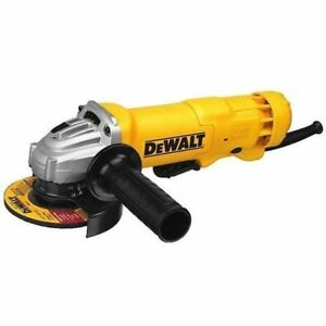 DEWALT DWE402N 4 1 2 Inch 11 Amp Paddle Switch Angle Grinder NO LOCK NEW $76.00
