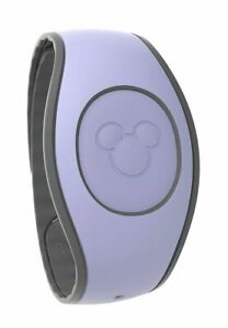 Disney Parks LAVENDER Solid Color Magic Band Magicband NIP