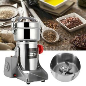 Electric Dry Herb speed Mill Grinder Machine for Corn Grain Wheat Cereal  Funnel