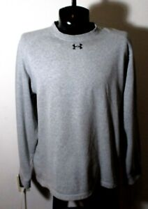 Men's UNDER ARMOUR Gray Long Sleeve Sweatshirt Size XL