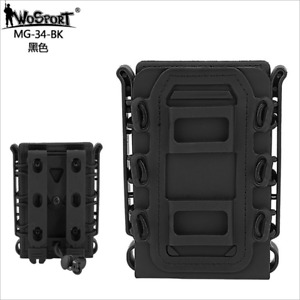 WoSporT Tactical Soft Shell Scorpion Rifle 5.56/7.62 Magazine Pouch Holder