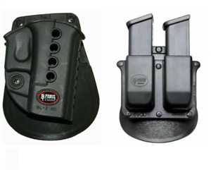 Fobus Evolution GL2E2 Paddle Holster Glock + Free Double Magazine Pouch NEW