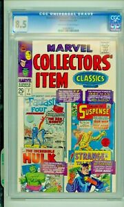 Marvel Collectors' Item Classics #7 (1967) CGC 8.5 OW/W pages