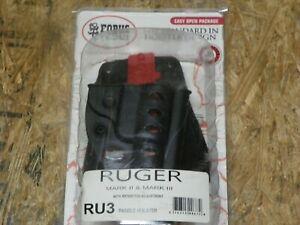 NEW -- Fobus Ruger MKII & MKIII - RU3 - Right Hand Paddle Holster    (Lot 4908)