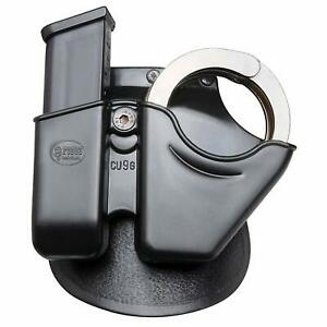 Fobus CU9G Cuff/Mag Combo Pouch for 9mm & .40 Double - Stack Magazine and Smith