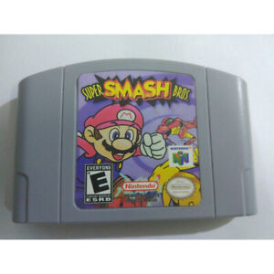 Nintendo N64 Game: Super Smash Bros Video Game Card USCAN Version A0T8J