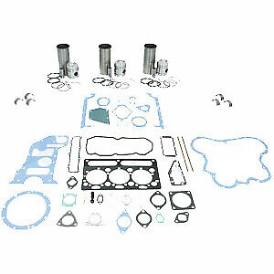 IK160 3 Cylinder Engine Overhaul Kit for Allis Chalmers 160 Perkins Diesel