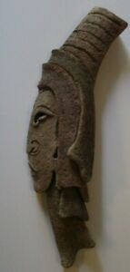 YETEVE SCULPTURE MID CENTURY MODERN ABSTRACT CUBIST CUBISM LARGE HEAD 1950'S VTG