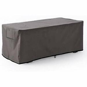 Leader Accessories Waterproof Deck BoxStorage Ottoman Bench Cover XL-Size