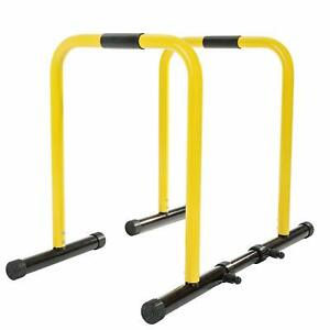 Dip Station Functional Heavy Duty Dip Stands Fitness Workout Dip Bar Station Sta