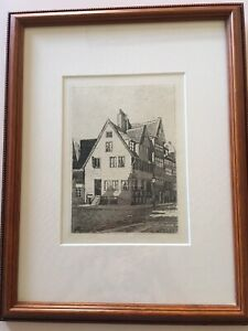 etching signedold from Denmark. Artist Unknown $40.00