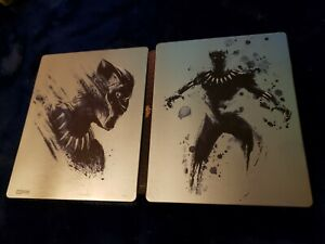 Marvel Black Panther 4k Ultra HD Steelbook (Upgrade) Blu-Ray