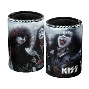 KISS Gene Simmons Can Cooler Stubby Holder City View Band Man Cave Bar Gift AU $14.95