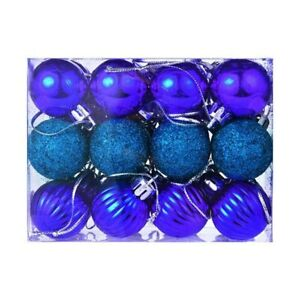 30mm Christmas Xmas Tree Ball Bauble Hanging2019 Home Party Ornament Decor Cheap $5.59