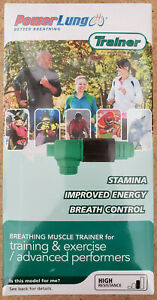 Power Lung Breathing Muscle Trainer TRNSL1311 High Resistance Brand New Sealed
