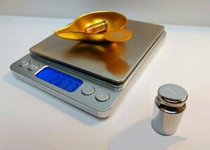 RELOADING DIGITAL SCALE, LARGE BASE, 1500GN W/CALIBRATION WEIGHT