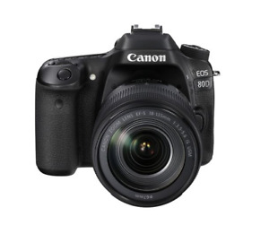 canon eos 80d 24.2 mp Digital SLR Camera - (with EF-S 24mm + EF-S 35-80mm)