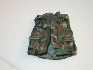 Loose Armor Vest PASGT Woodland Camouflage for 1/6th 12