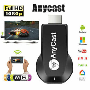 1080P WiFi HDMI Anycast Airplay TV Wireless Display DLNA Dongle Adapter Receiver
