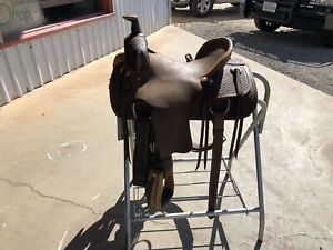TESKEY YOUTHBARREL SADDLE*13 12