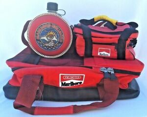 Marlboro Unlimited Double Sided Cooler Lunch Bag Water Coleman Canteen Camping