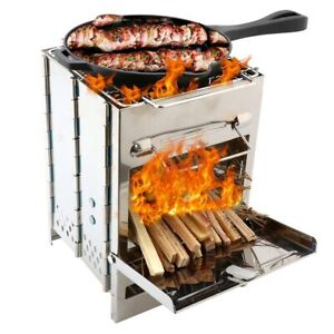Mini Portable Barbecue BBQ Grill Stove Compact Charcoal Outdoor Camping Cooker