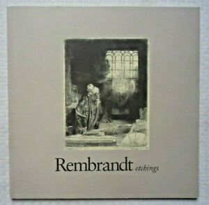REMBRANDT ETCHINGS LEBANON VALLEY COLLEGE 2002 EXHIBITION CATALOG $14.95