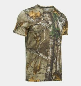 Under Armour Shirt, Men's UA Threadborne Early Season Realtree Camo, NWT $21.99