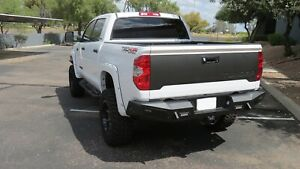 Addictive Desert Designs R747211340103 HoneyBadger Rear Bumper Fits 14-19 Tundra