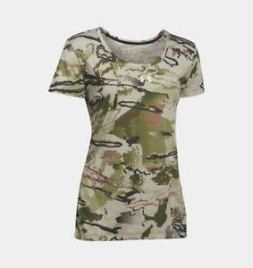 Under Armour Shirt, Women's UA Threadborne Early Season Barren Camo, NWT $19.99