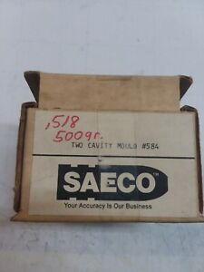 New SAECO double cavity 50 cal blocks. 518 diameter 500gr. factory # 584